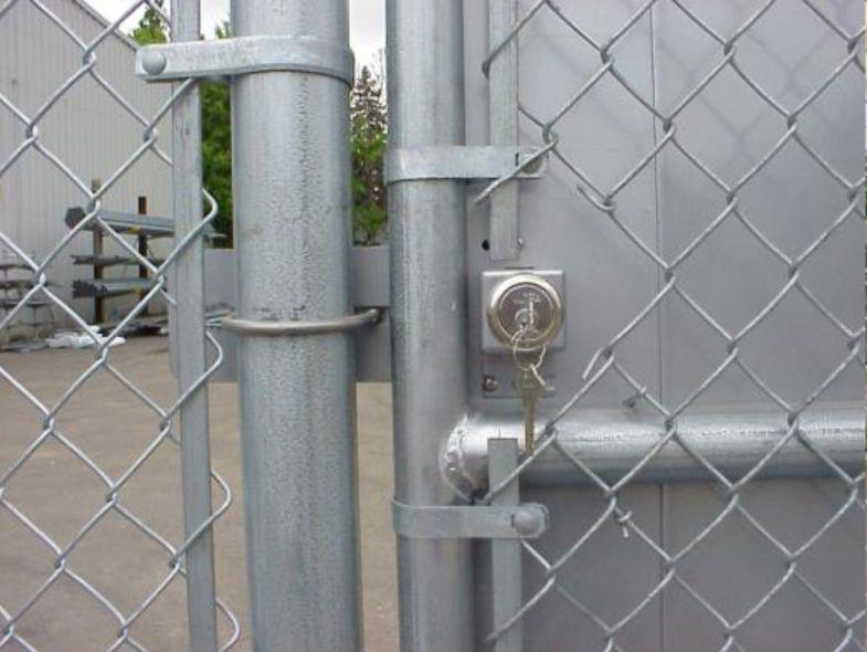 Deluxe Panic Exit Device Kit For Chain Link Pedestrian