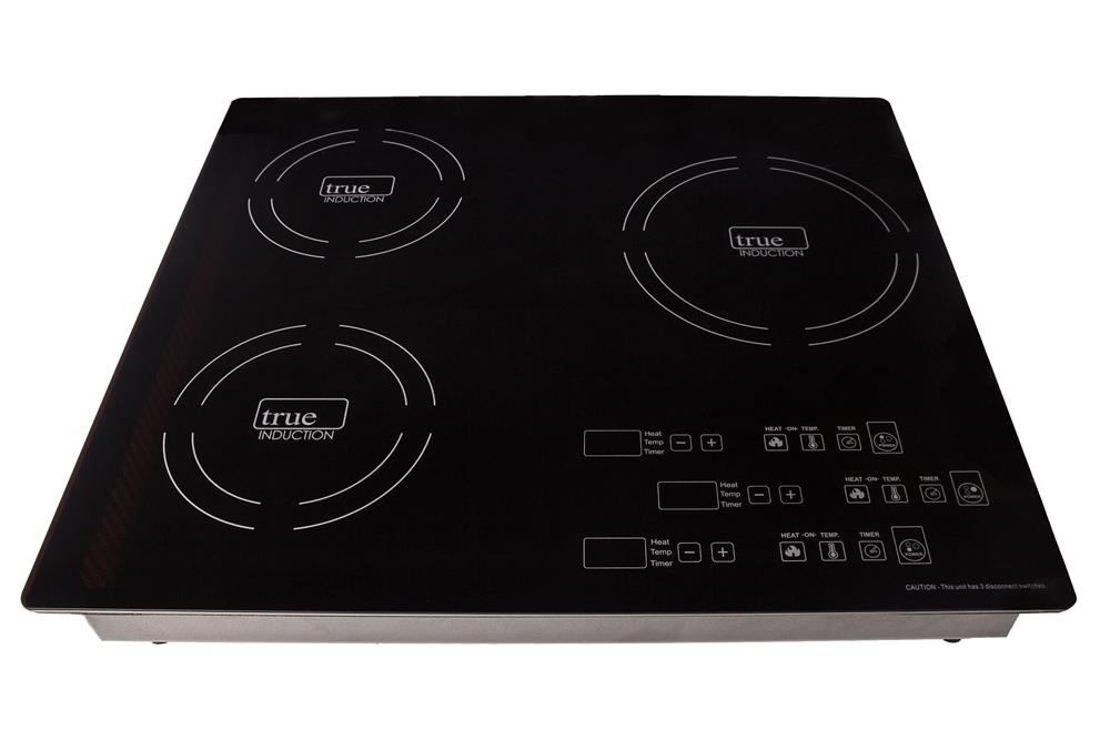 Triple Burner Induction Cooktop