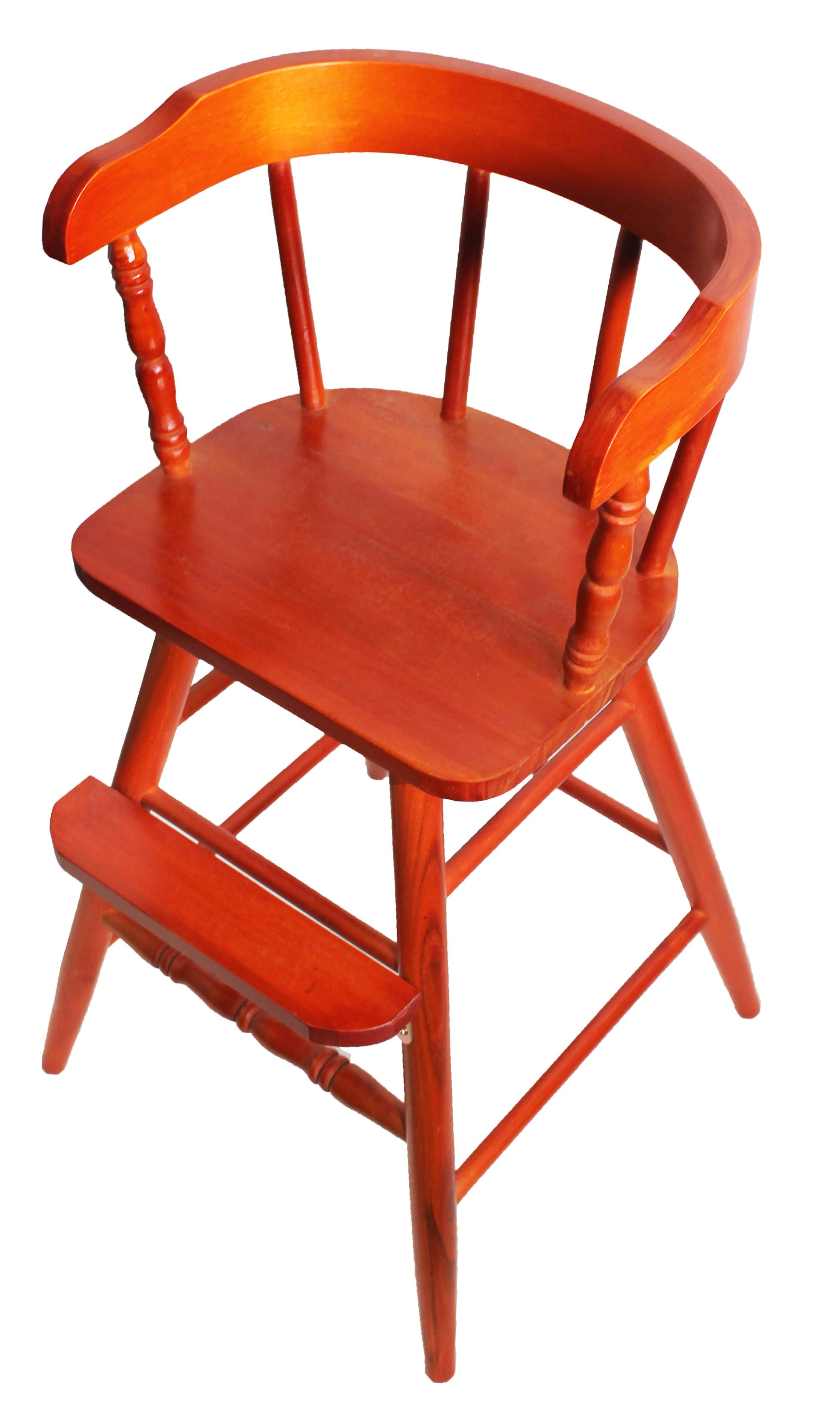 Sargent's Sons Youth Chair - Flamed Mahogany Finish
