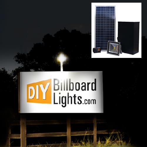 Billboard Lights Solar Ed Outdoor