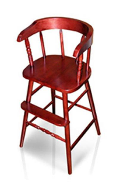 Whitewood Industries Youth Chair - Rosewood Finished