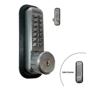 LockeyUSA 2210 Key Override Mechanical Deadbolt Door Lock