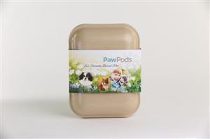 Pet Caskets Medium Paw Pod (Biodegradable) by Paw Pods