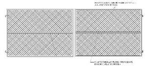 Chainlink-Dual-Gate-Frame-Residential