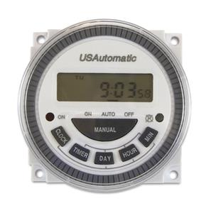 US Automatic 7 Day Programmable Timer