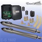 Estate Swing E-S 1602 Dual Gate Opener w/ Free Extra Remote (E-S 1602)
