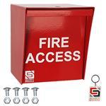 Fire Access Box Red for Safety