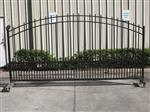 Ready to Ship Single Swing Driveway Gate Made in USA