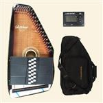 Oscar Schmidt OS11021FE Electric AutoHarp – The Mayflower - Free Gig bag and Chromatic Tuner