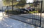 Ready to Ship Single Slide Driveway Gate Made in USA